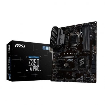 Motherboard Msi Z390a Pro S1151 9th Gen