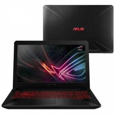 Notebook Gamer Asus Core i5 3.9Ghz, 8GB, 1TB, 15.6″ FHD, GTX 1050Ti 4GB