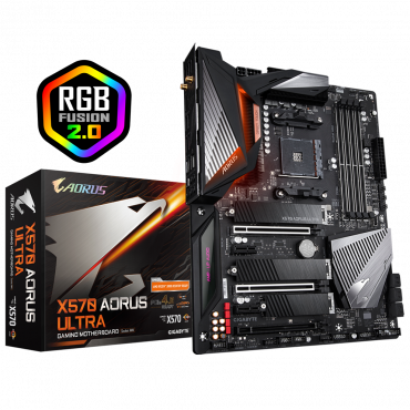Gigabyte – X570 AORUS ULTRA – Motherboard