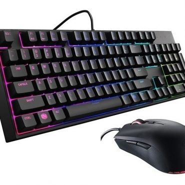 Combo Teclado y Mouse Coolermaster MK Lite L RGB