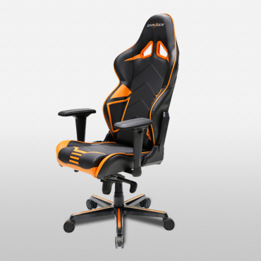 DXRacer Racing PRO Series – Black/Red/Orange (OH/RV131/NR