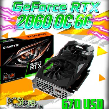 GeForce RTX™ 2060 WINDFORCE OC 6G