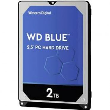 Hdd 2.5″ Wd Blue R2 2tb 5400 Rpm