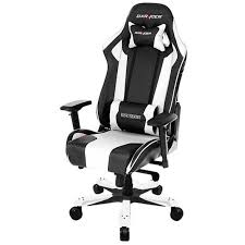 DXRacer King Series – Black/White (OH/KS06/NW)