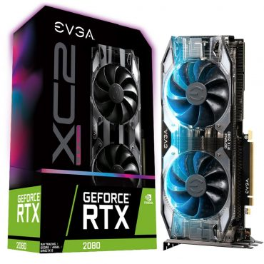 Tarj, Vga Evga Rtx2080 8gb Gddr6 Xc2 Ultragaming