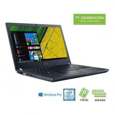 Notebook Acer I3-7100u W10p Tmp449-g2-m-32m5-es