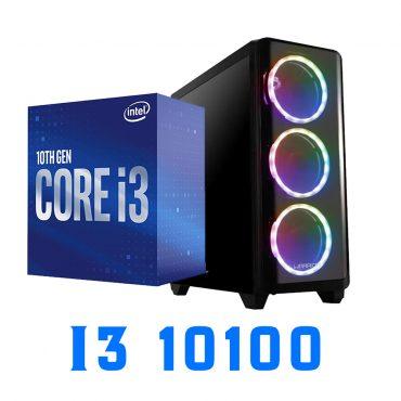 Equipo Armado Intel Core i3 10100 RX 570 8GB