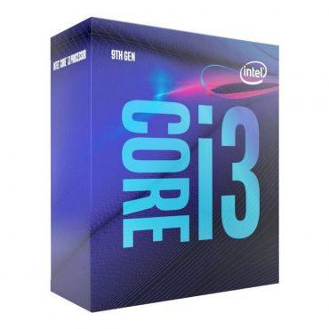 Cpu Intel Core I3 9100f S1151 Sin Video