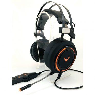 Auricular Wesdar Gaming Gh2 Pegasus Usb Black