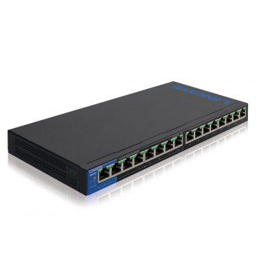 Switch Linksys 116p 16 Port Poe