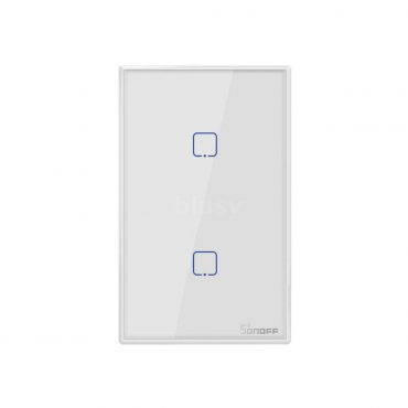 Sonoff Interruptor De Pared 2 Botones Wifi