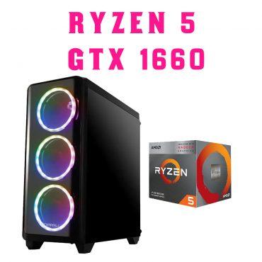 Equipo Armado AMD Ryzen 5 3600 GTX 1660 6GB
