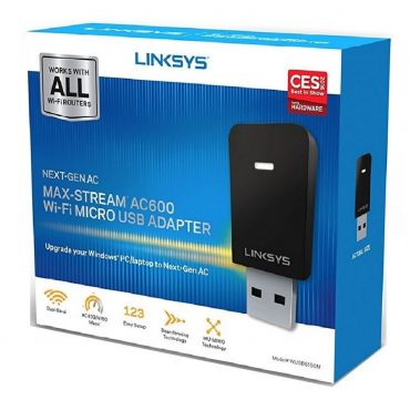 Miniadaptador Usb Wifi Ac600 Max-stream Wusb6100m