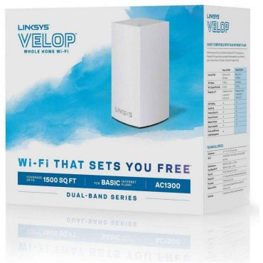 Sist. Malla Wifi Linksys Velop Whw0101 Ac1200 1pk