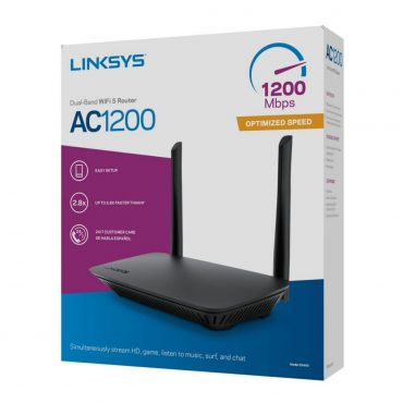 Router Linksys E5400 Ac1200 Dual Band