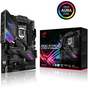 Motherboard Asus Rog Strix Z490e Gaming S1200