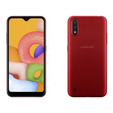 Celular Samsung A01 A015m/ds 32gb Red