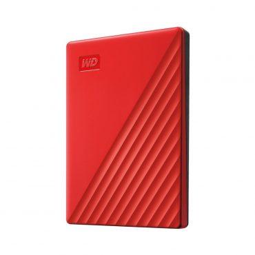 Hdd Ext 2.5″ Wd Mypassp 1tb Usb3 Rojo Int 3.2