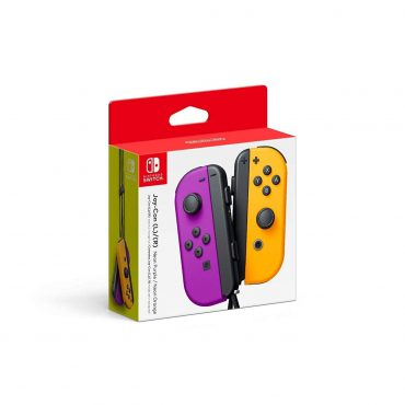 Joystick Nintendo Switch L/r Neon Purple Orange