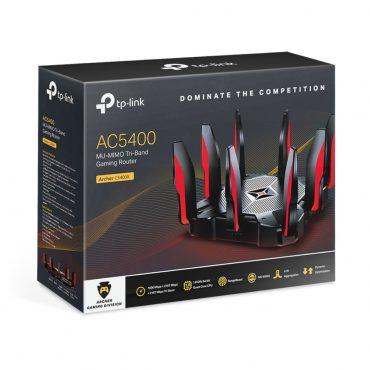 Tp-link Router Gaming Archer C5400x Tri Banda
