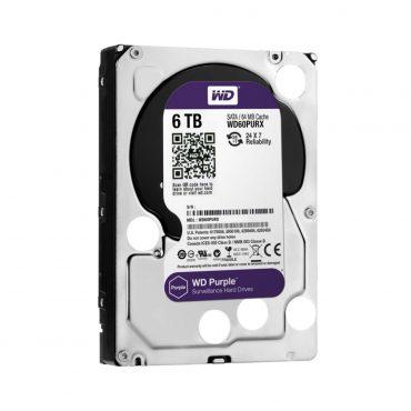 Hdd 3.5″ Wd Purple 6t Sata3 Intellipower