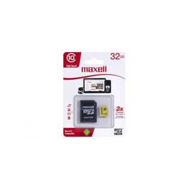 Memoria Mic Sd Maxell Hc 32gb C10 C/adaptador