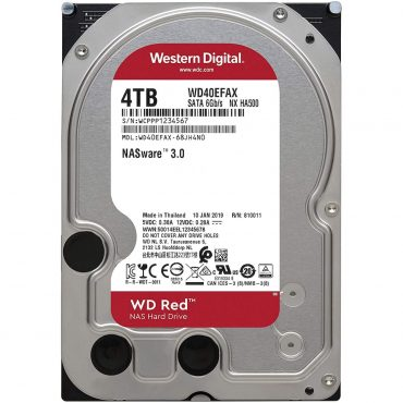 Hdd 3.5″ Wd Red 4tb Sata3 Intellipower 256mb Cache