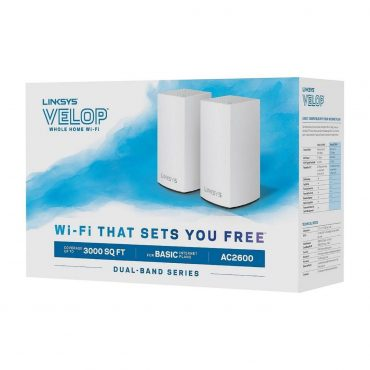 Sist. Malla Wifi Linksys Velop Whw0102 Ac2600 2pk