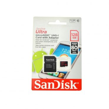 Memoria Mic Sd Sandisk Uhs-i 128gb C10 C/ad 100mbs
