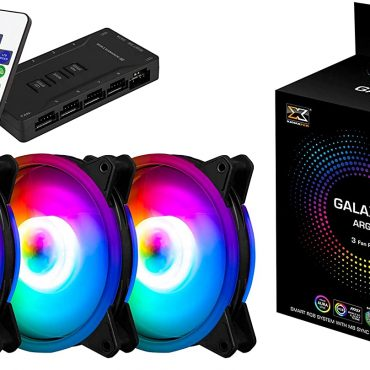 Xigmatek Galaxy II Essential Case Fan Galaxy II ARGB Fan Series