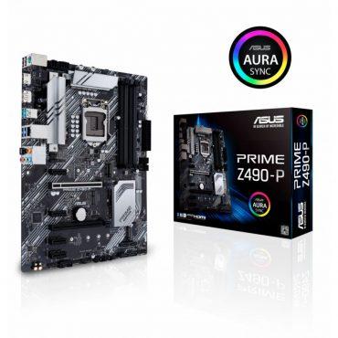 Motherboard Asus Z490-p Prime S1200