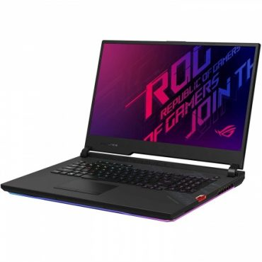 Notebook Gamer Asus Core i9 5.3Ghz, 32GB, 1TB SSD, 17.3″ FHD, RTX 2070 8GB