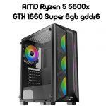 AMD Ryzen 5 5600x GTX 1660 Super 6gb gddr6