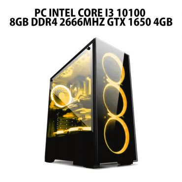 pc Intel Core i3 10100 8gb ddr4 2666mhz GTX 1650 4gb