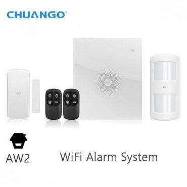 Chuango Kit De Alarma Aw2 Wifi 315 Mhz