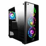 Gabinete Xigmatek Venom ATXKit 3 Fan RGB con control remoto