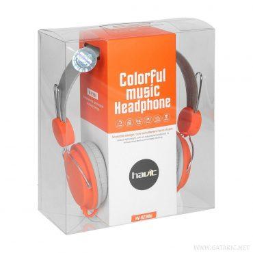 Auricular Havit Hv-h2198d Grey+orange