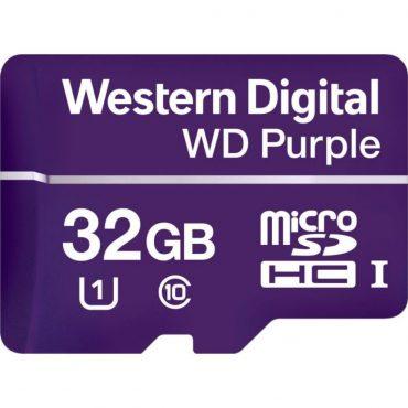 Memoria Micro Sd Wd Purple Sdhc 32gb 500cl