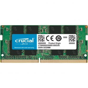 Sodimm Crucial Ddr4 16gb 2666 Cl19 1.2