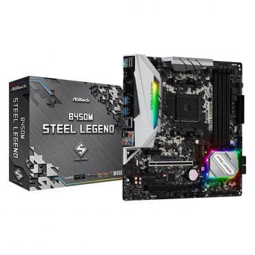 Motherboard Asrock B450m Steel Legend Am4
