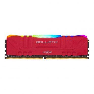 Memoria Crucial Ballistix Rgb Ddr4 16gb 3200 Red