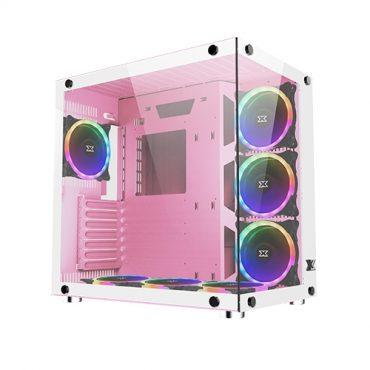 Gabinete Xigmatek Aquarius Queen 7 Fan RGB Con Control Remoto