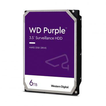 Hdd 3.5″ Wd Purple 6tb Sata3 Intellipower 128mb