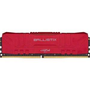Memoria Crucial Ballistix Ddr4 16gb 2666 Red Bulk
