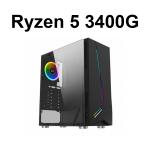 AMD Ryzen 5 3400G 8gb de ram SSD 240 Xigmatek Eros