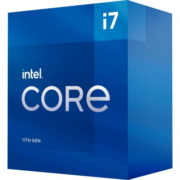 Cpu Intel Core I7 11700 S1200 11va G. Box