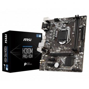 Motherboard Msi H310m Pro-vdh 1151 8va Gen