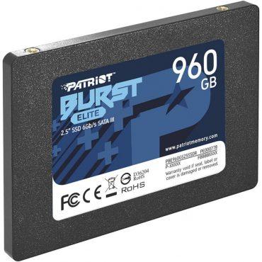 Ssd Patriot Burst Elite 960gb 2.5″ Sata3