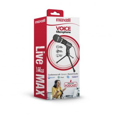Microfono Maxell Pc Ca-mic 3.5mm