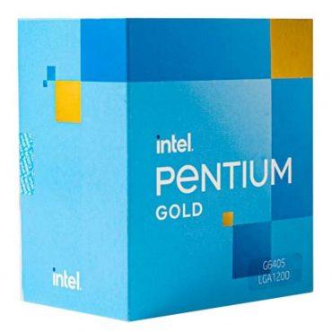 Cpu Intel Pentium G6405 S1200 10ma G. Box